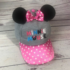 Girls Disney Minnie Mouse hat